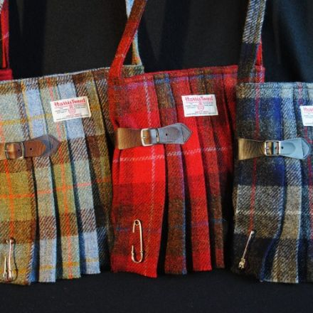 Harris Tweed Kilt Bags